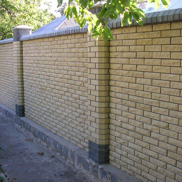 Фотография классический забор из Литос