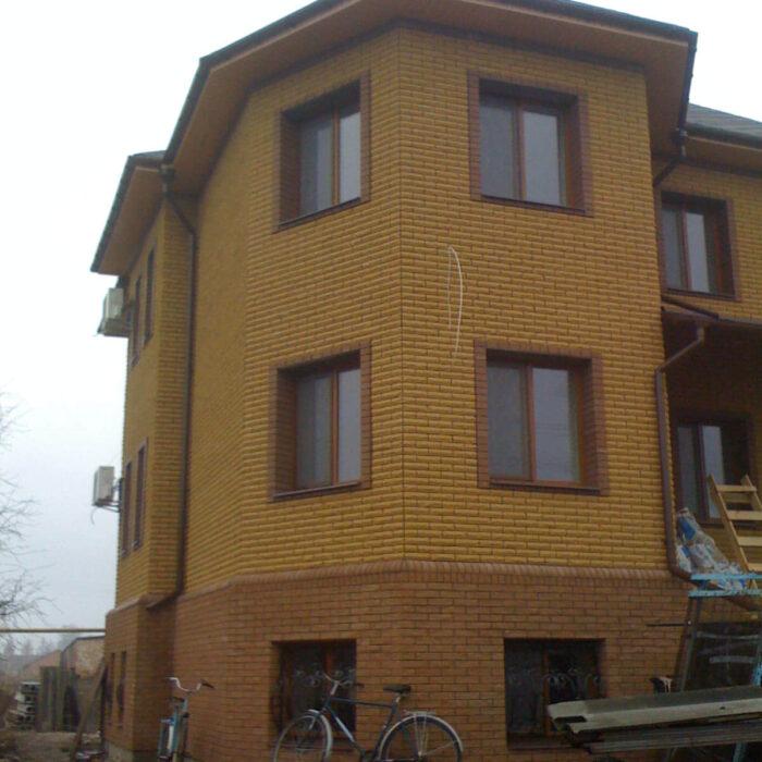 Фото трёхэтажный частный дом