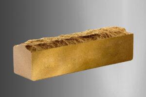 Кирпич Литос узкий скала полнотелый, цвет слоновая кость
