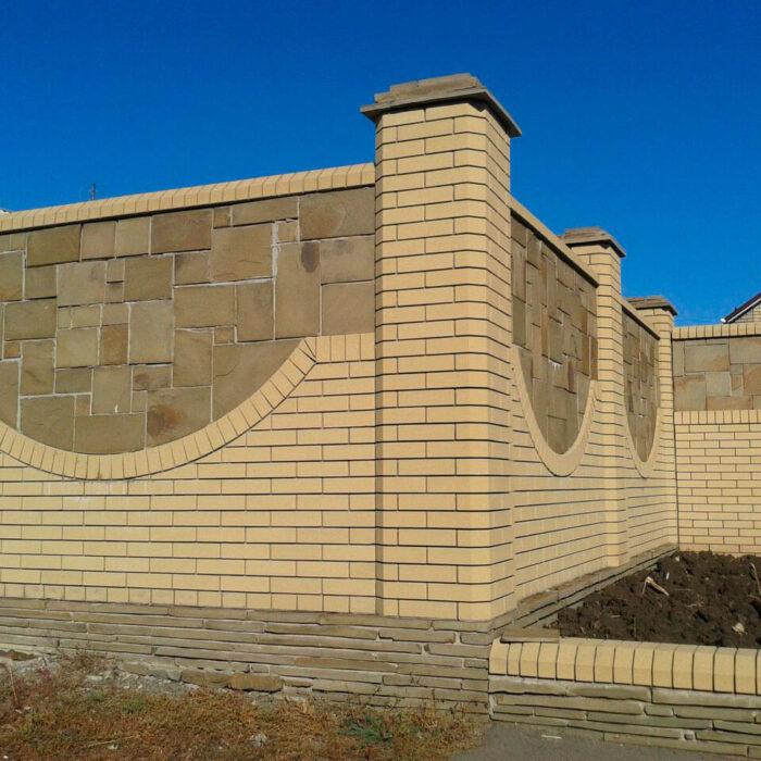 Фото забор из Литос