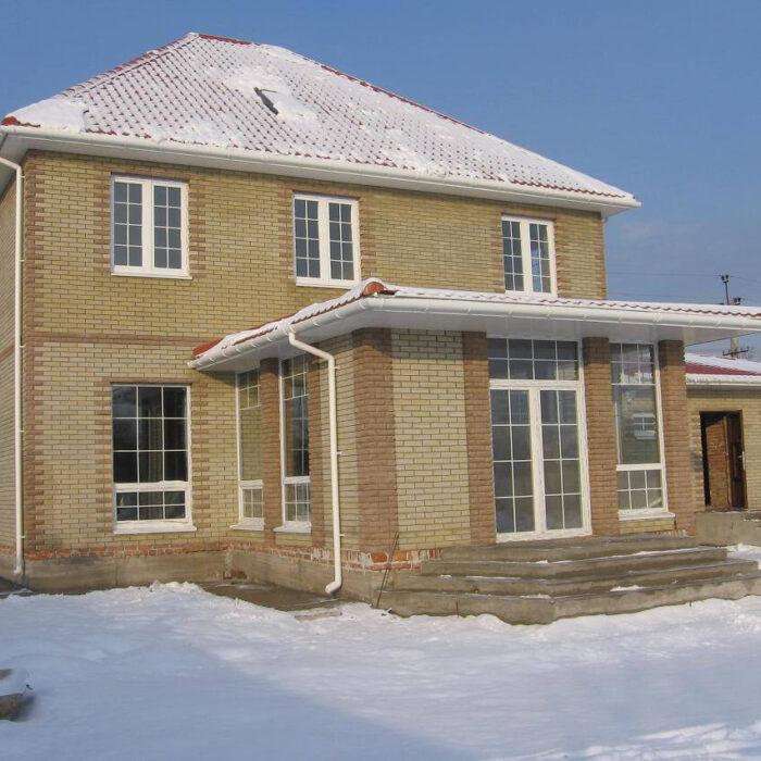 Фото частный двух этажный дом Запорожье